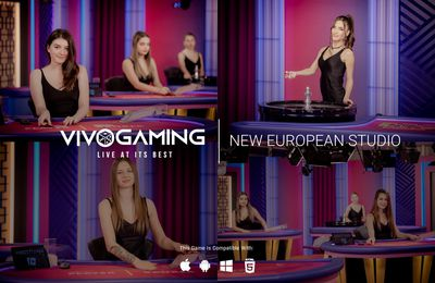 Vivo Gaming lance un nouveau studio de casino live en Europe