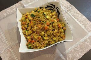 Quinoa à l'indienne