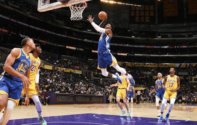 Golden State encore vainqueur des Lakers en match de présaison NBA