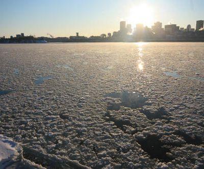 Le Saint Laurent en hiver