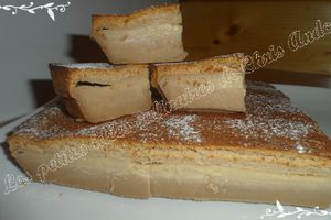 Gâteau magique au carambar