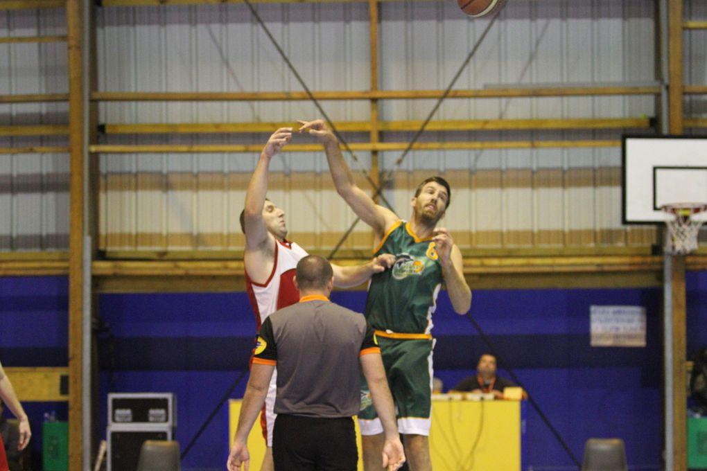 Les basketteurs de l'AL Vénissieux-Parilly se sont montrés trop maladroits pour l'emporter