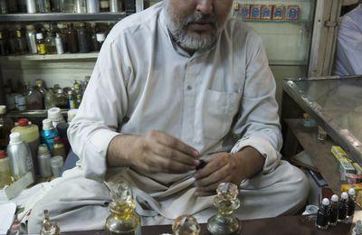 Parfumeurs et marchands de thé à Calcutta