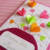 Tuto - Carte fêtes des mères