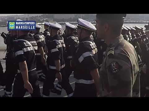 Vidéo - Entraînement des Marins-Pompiers de Marseille pour le défilé du 14 Juillet 2019 à Paris