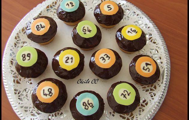 Cupcakes pour le loto organisé par l'APE...