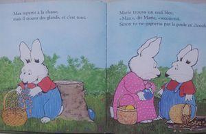 Max et la poule en chocolat. Rosemary Wells (dès 3 ans)