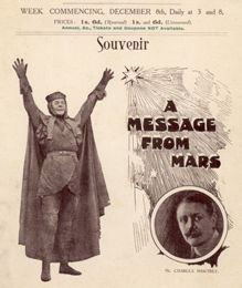 [THÉÂTRE ET FILM] A message from Mars (1912) J. Wallett Waller