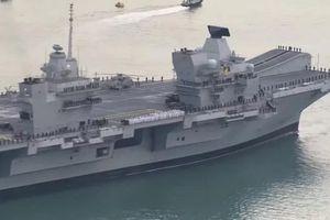 Épidémie de Covid-19 sur le porte-avions britannique HMS Queen Elizabeth alors que tout l'équipage a été vacciné 2 fois