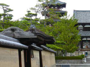 Préf. de Nara : Nara : Le temple Hôryû-ji 法隆寺 UNESCO