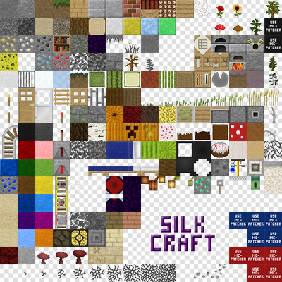Pack de Texture SilkCraft [1.3.2]