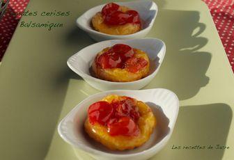 minis-tartelettes tomates cerises au balsamique blanc