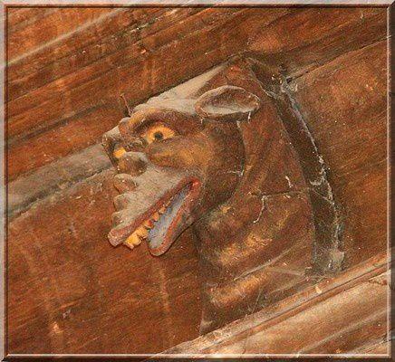 Diaporama église fortifiée de Bonneville la Louvet
