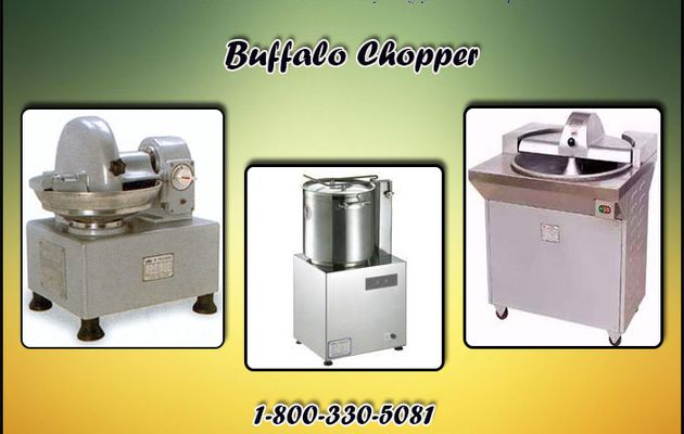 Know the Uses of Buffalo Chopper