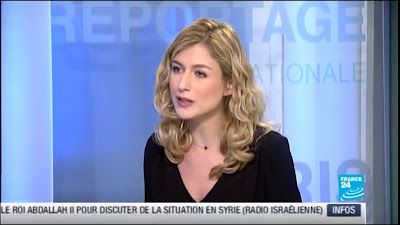 2012 12 28 - CLAIRE BONNICHON - FRANCE 24 - PARIS DIRECT @06H52