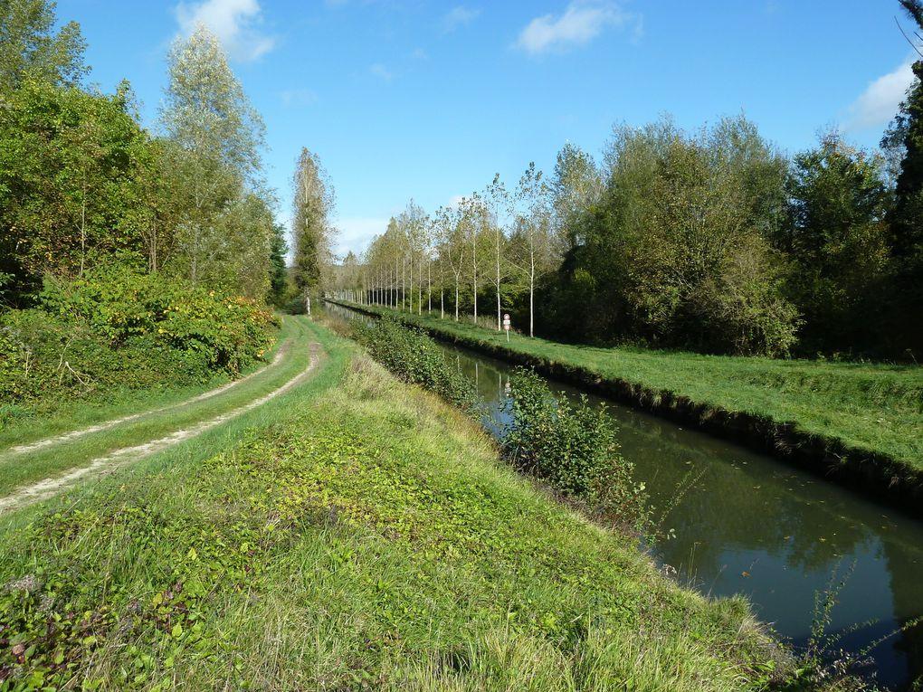 Randonnée de Mareuil-sur-Ourcq à Lizy-sur-Ourcq - 23 km.