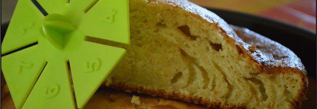 Gâteau mascarpone vanille