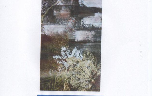 EXPO Peintures et palettes d'AUTOMNE samedi 17 octobre et dimanche 18 Cathy Allais et EBT COLLAGE