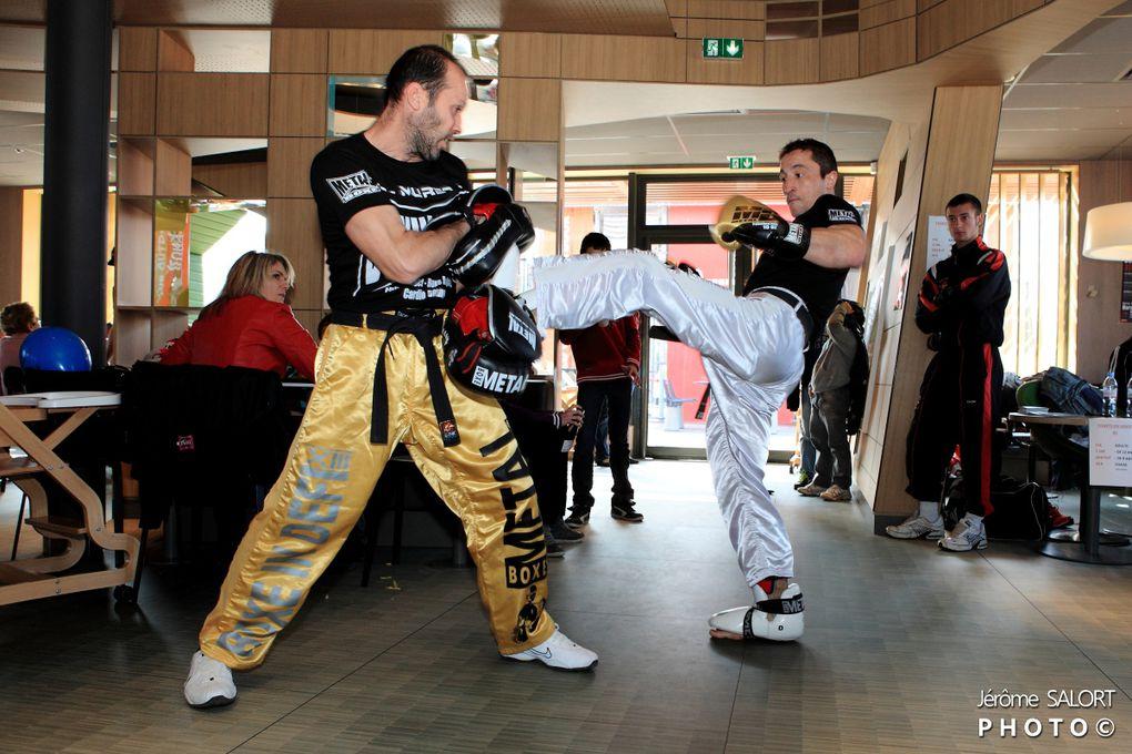 Pour la promotion du Boxe in défi XIV, la team Bonadeï a crée l'évènement au restaurant Mac Donald de Muret.