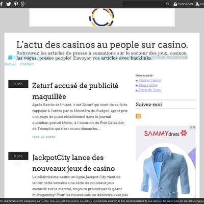 L'actu des casinos au people sur casino.over-blog.com
