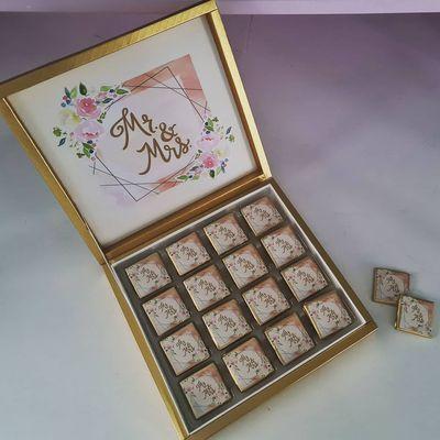 Boîte chocolat personnaliser
