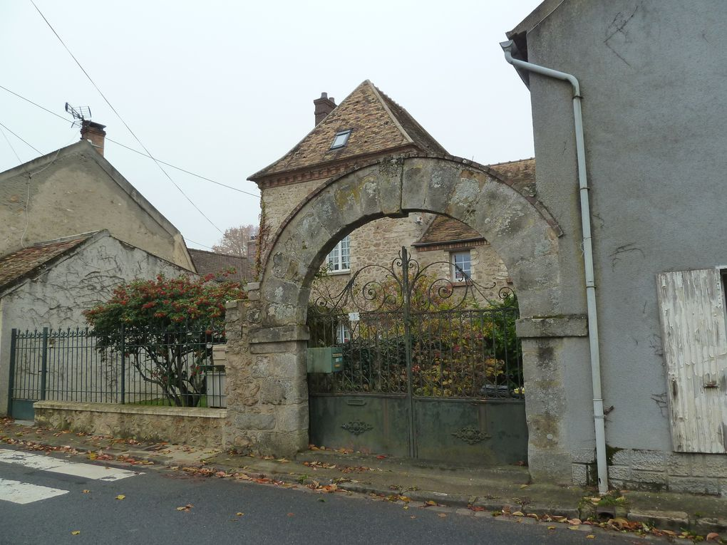 Randonnée en boucle de Saint-Chéron - 18 km.