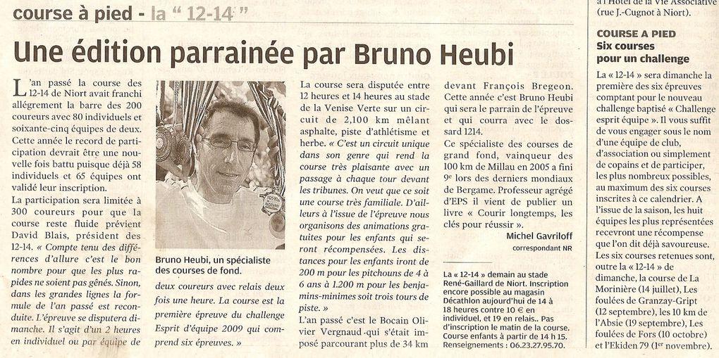 Album - La revue de presse 12-14 Niort