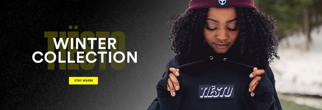 Tiësto Shop | Winter Collection 2018 #Tiesto #Tiestolive #TiestoShop