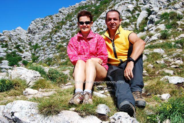randonnée au Col Vert - Vercors avec christine