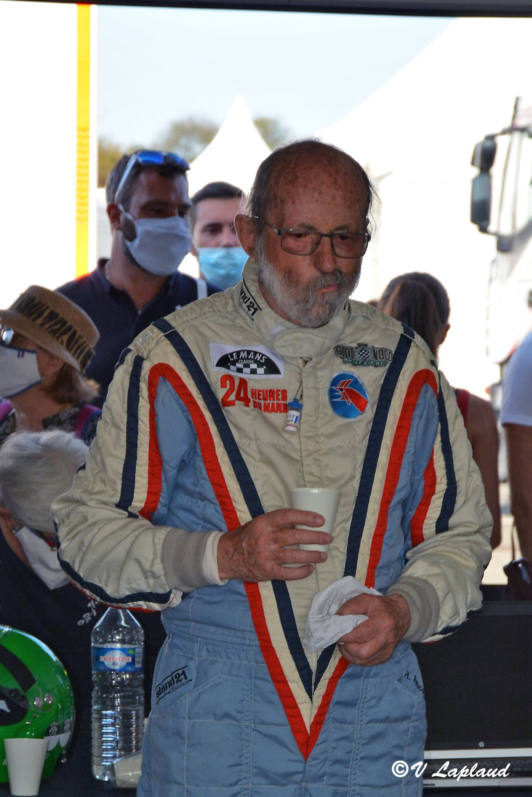 Henri Pescarolo, Le Vigeant 2020, 26ème Sport et Collection.