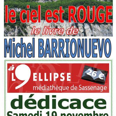 19 décembre 2020 de 10H à 12H, je dédicace mon livre à la médiathèque l'Ellipse de Sassenage