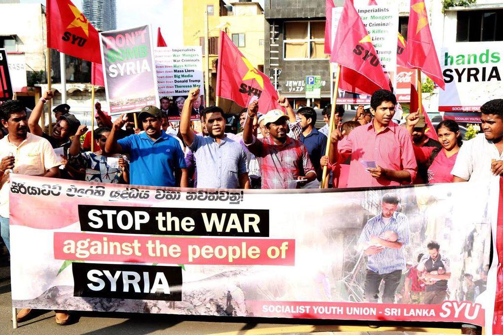 La FMJD salue les manifestations contre la guerre en Syrie et condamne la répression policière en Grèce