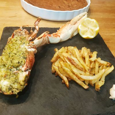 HOMARD AU BARBECUE