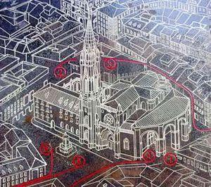 Plan de la cathédrale.