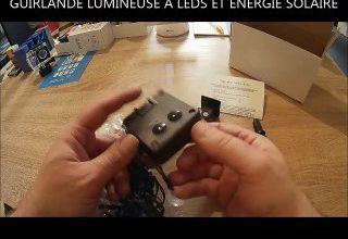 TEST: GUIRLANDE SOLAIRE 30 BOULES LED