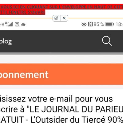 LE JOURNAL GRATUIT DU PARIEUR - 26 AVRIL 2021 - COUPLE DU JOUR DU TIERCE EN COUVERTURE
