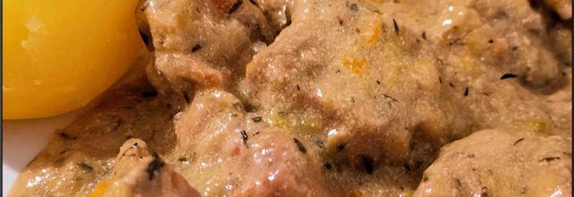 Blanquette de veau au cookeasy