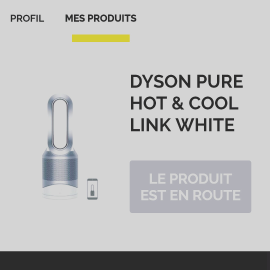 Dyson hot and cool links white
