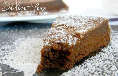 Gâteau au Chocolat Bellevue de Christophe Felder {Sans beurre}