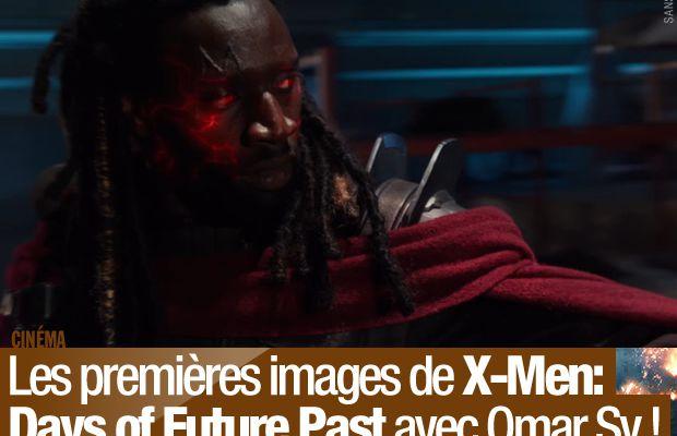 Les premières images de X-Men: Days of Future Past avec Omar Sy ! #XMen