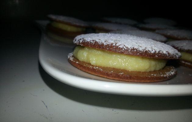 Whoopie pies façon tarte au citron