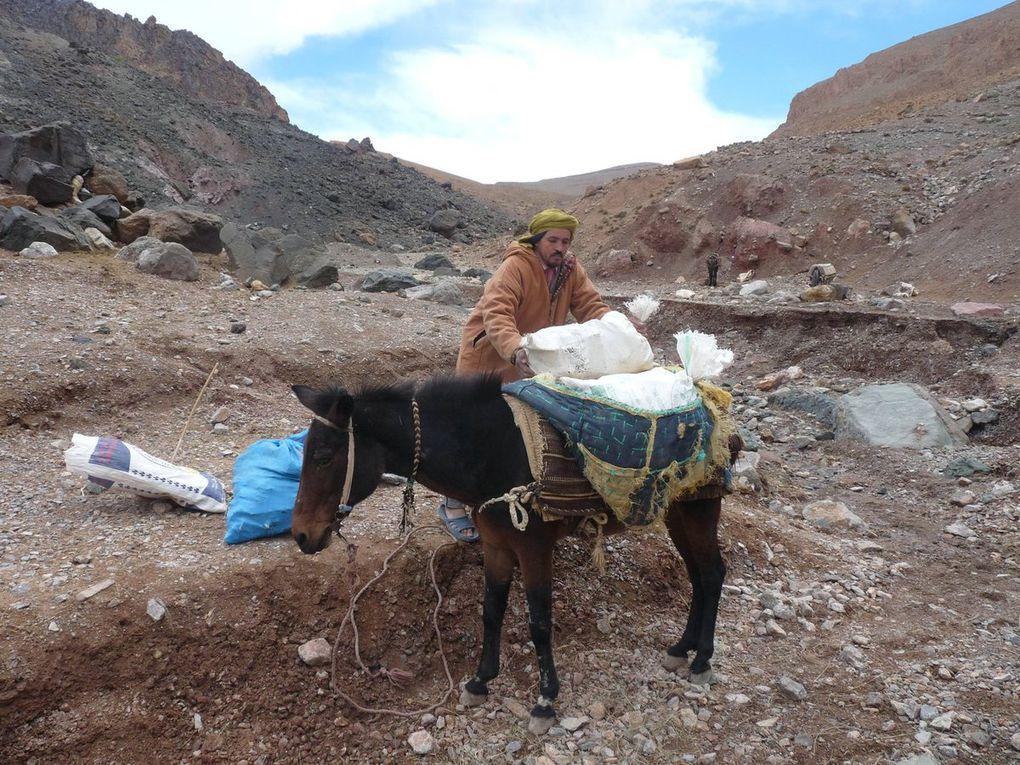 Les mine de sel d'Aït Daoud.