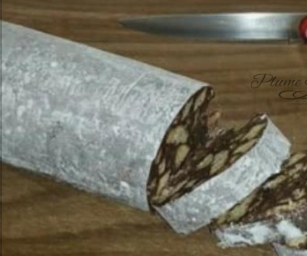 Saucisson au Chocolat - Trompe l'oeil