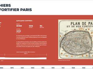 Exposition conçue par la Mission Métropole du Grand Paris de la Ville de Paris, présentée sur les grilles de l'Hôtel de Ville