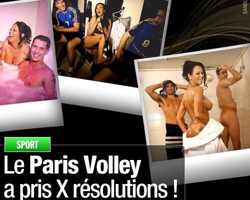 Le Paris Volley a pris X résolutions !