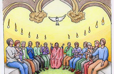 Maquette d'un tableau pour une église