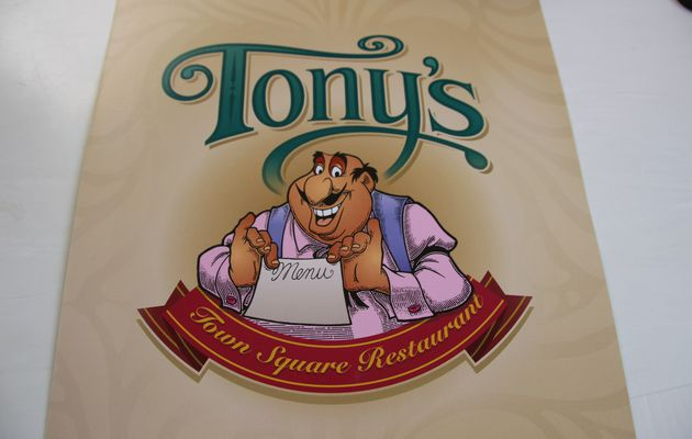Magic Kingdom : Le restaurant Tony's Town Square