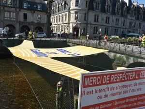 Taille Pantagruel pour accueillir le Tour de France à Quimper