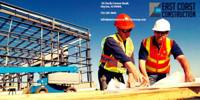 For which aspects, a construction company is responsible in a project?