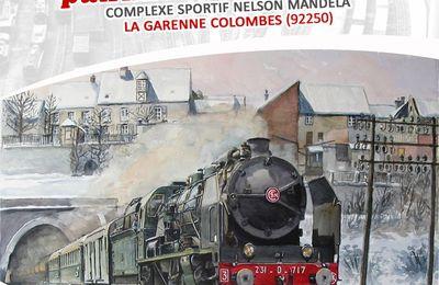 22 et 23 septembre 2018 : Exposition nationale de modélisme et patrimoine ferrovaire à la Garenne-Colombes